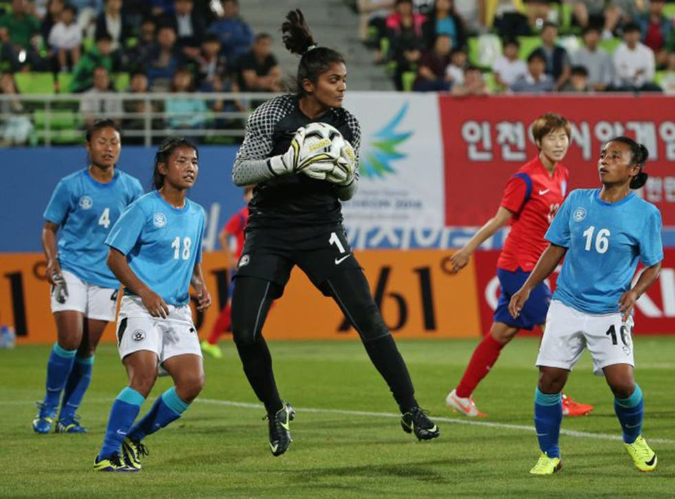 India goalkeeper Aditi Chauhan became the country's first woman to play English league football