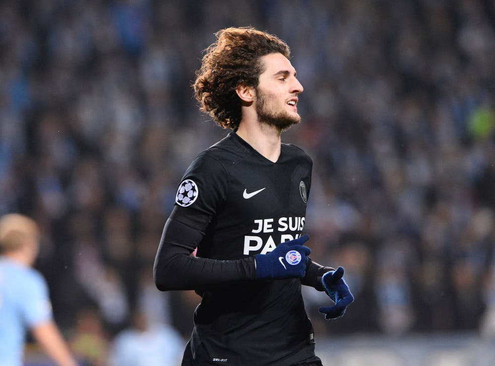 Adrien Rabiot could join Arsenal for the rest of the season