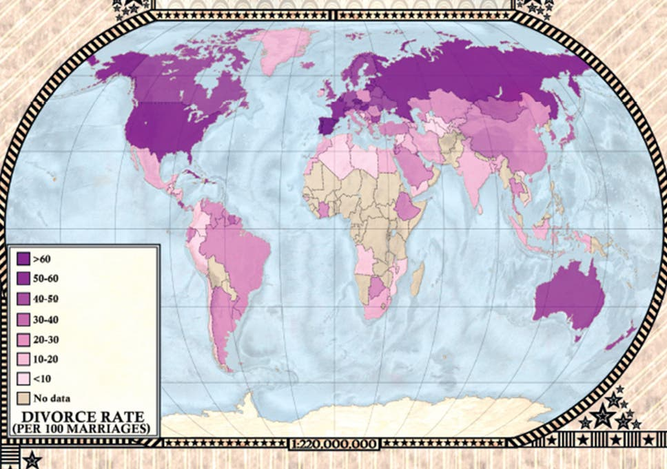5 maps that will change how you see the world | The Independent Changes In World Map on