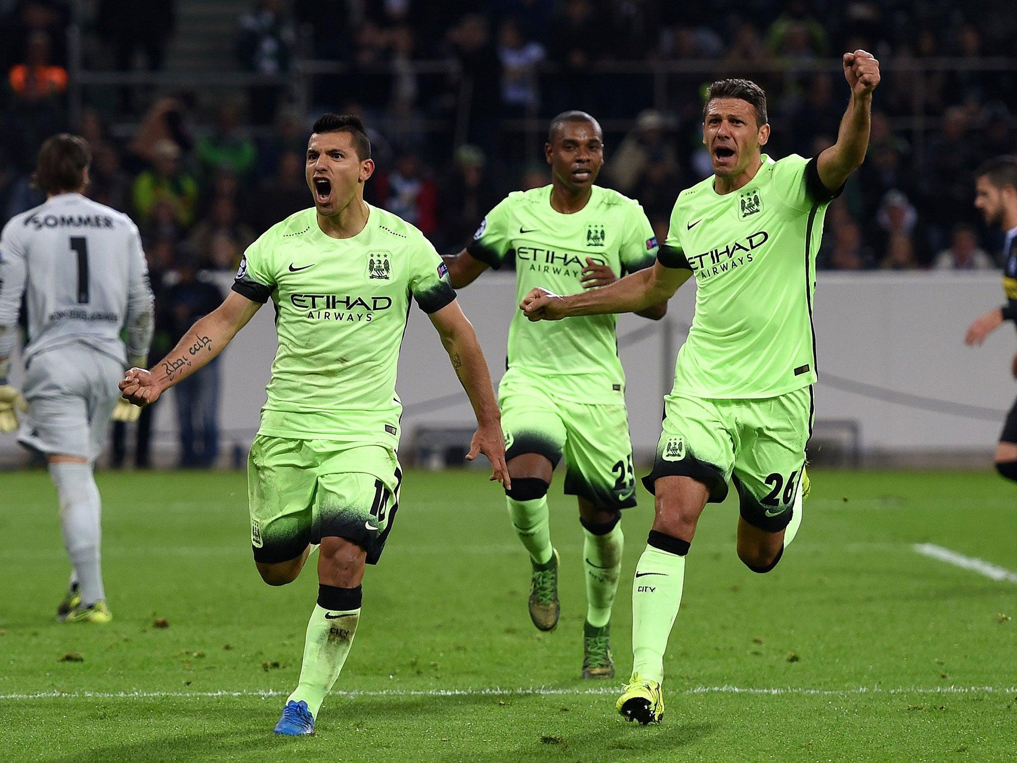 Manchester City Gegen Borussia Mönchengladbach