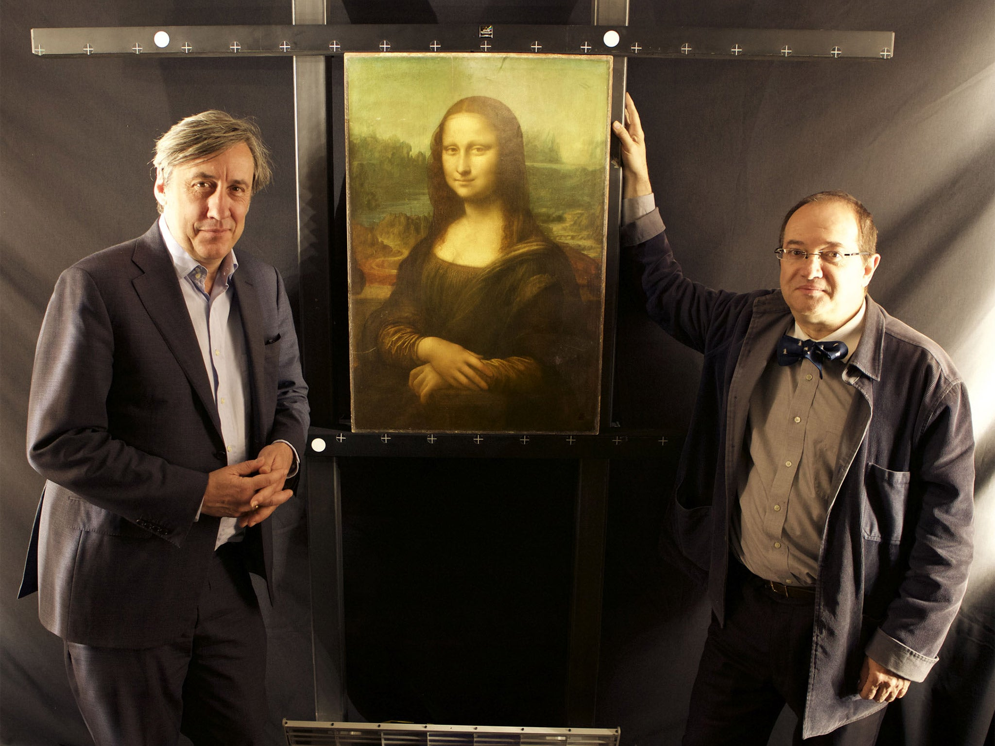 Secrets Of The Mona Lisa French Scientist Pascal Cotte