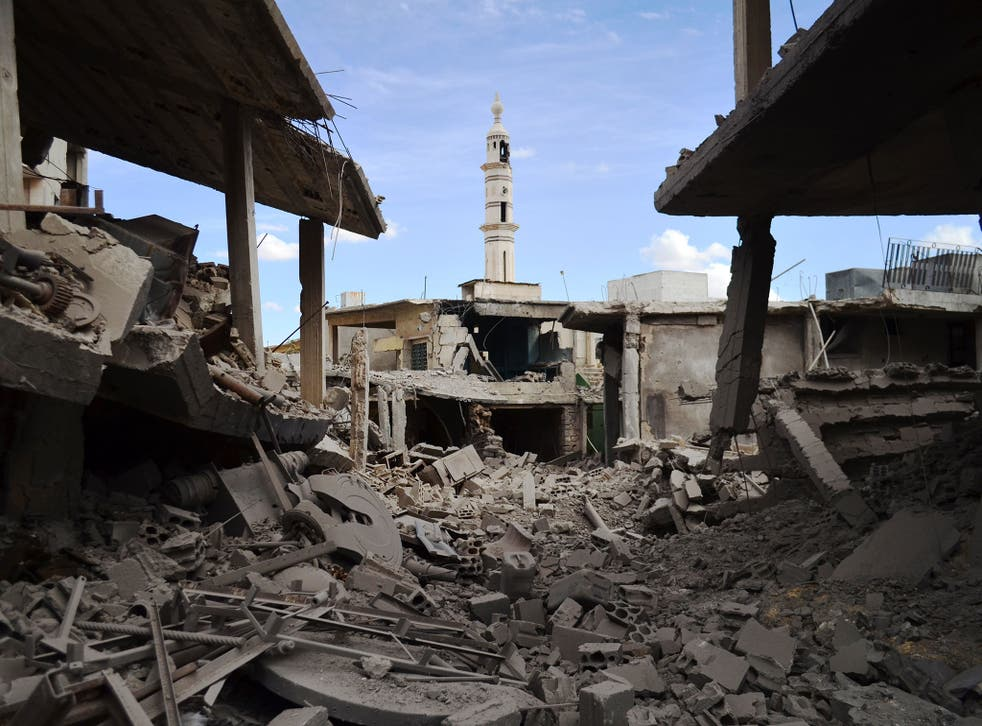 Homs was once dubbed the 'capital of the revolution' and was the scene of some of the first protests against President Bashar al-Assad in 2011