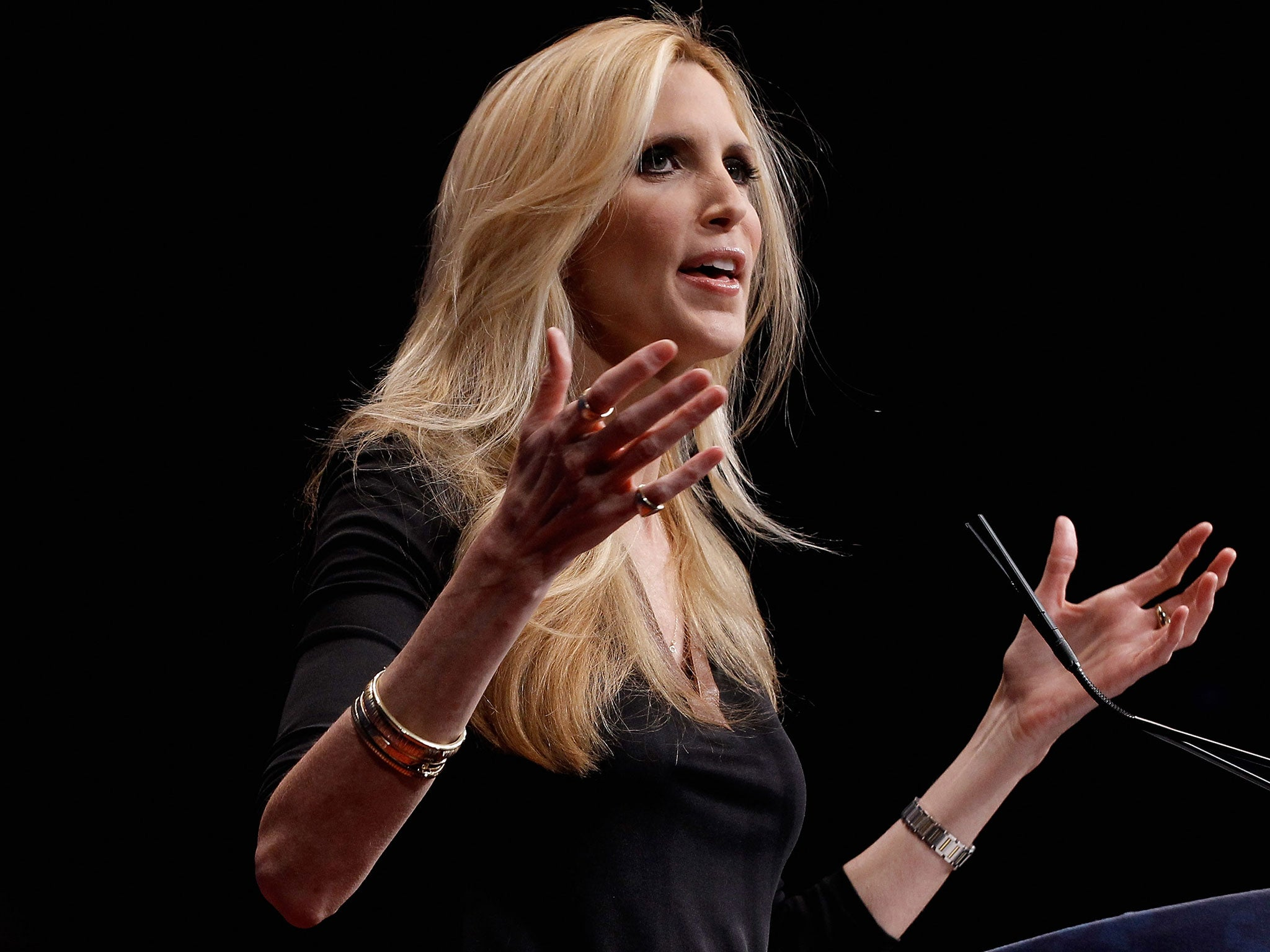 The Ann Coulter jokes at the Rob Lowe roast were brutal