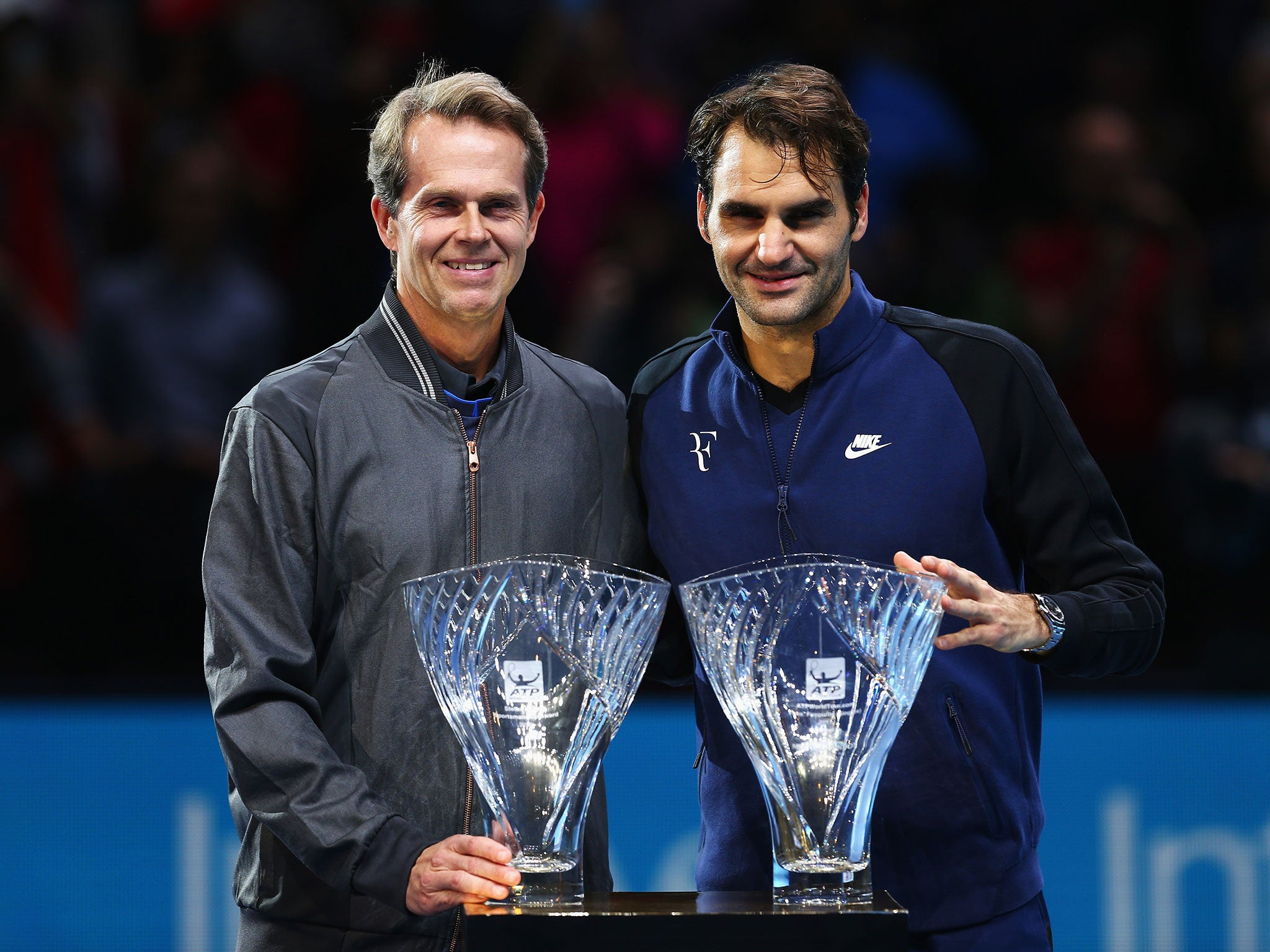Roger Federer spits from coach Stefan Edberg to join up with Ivan