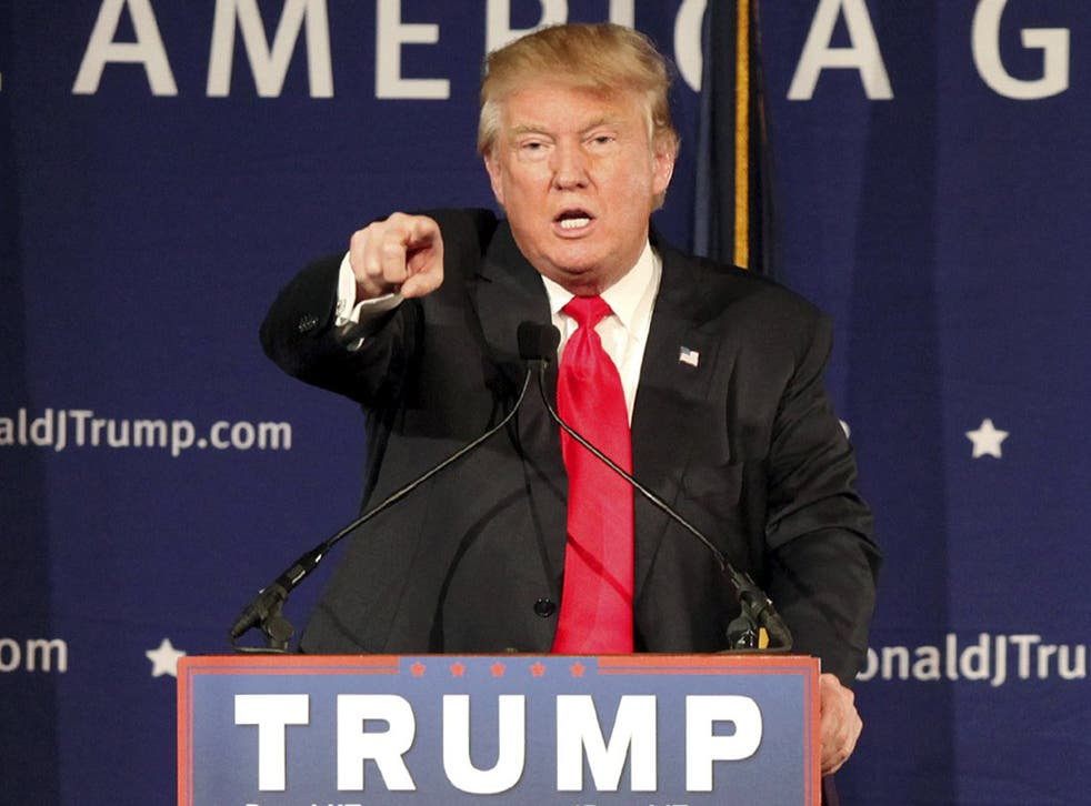 Donald Trump has called for a complete ban on Muslims entering the United States