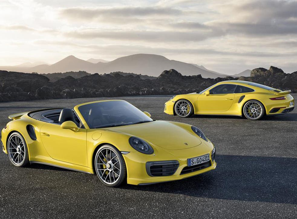 The mild rework includes a more powerful twin-turbo 3.8-litre flat-six