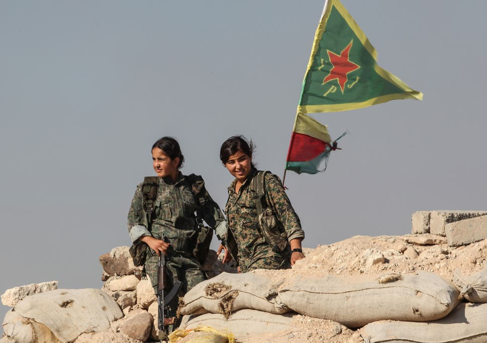 Isis Are Afraid Of Girls Kurdish Female Fighters Believe They