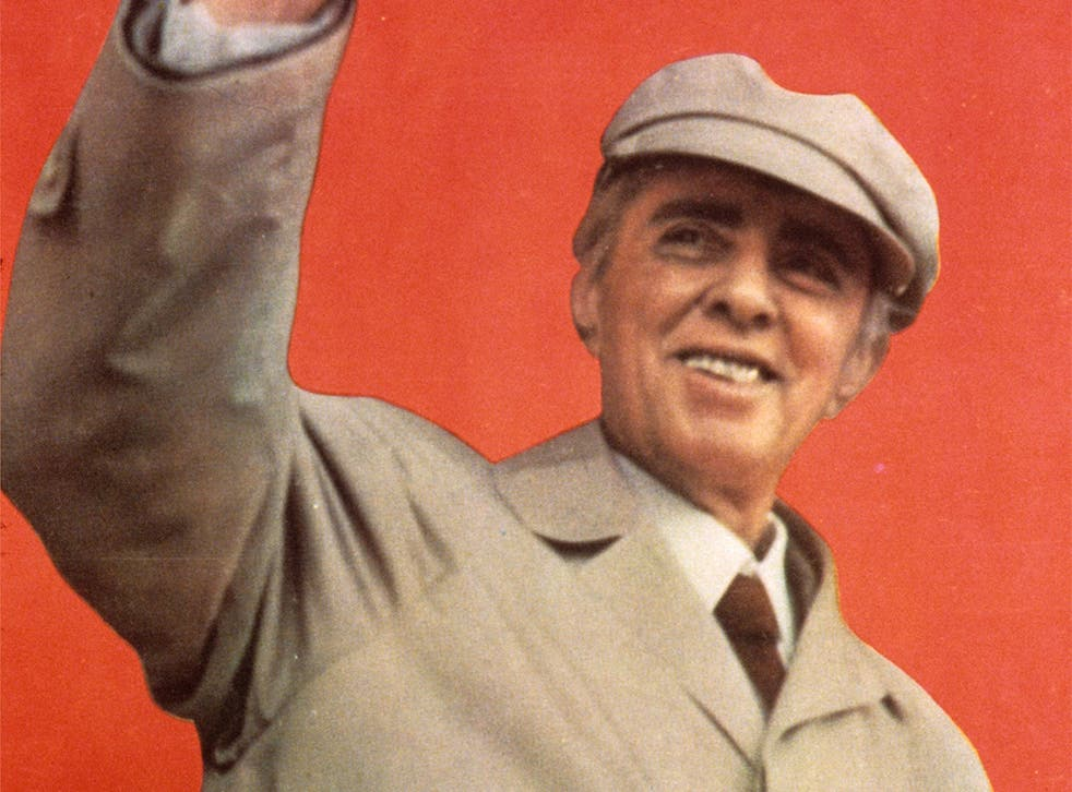Enver Hoxha was the leader of Albania until his death in 1985