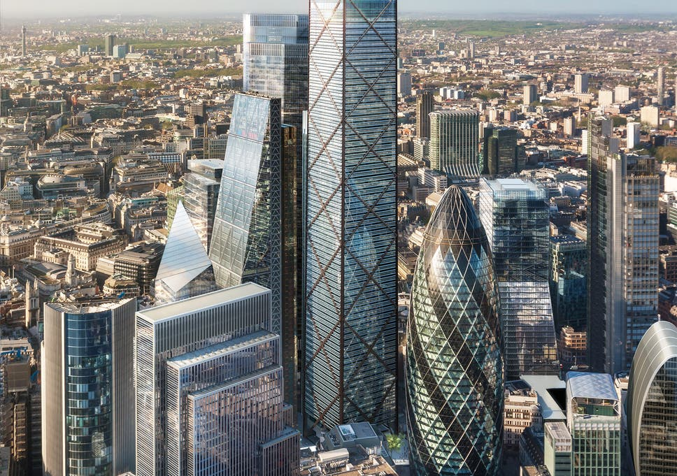 london s new skyscrapers inflict serious harm on capital s