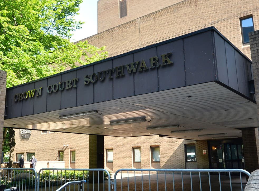Southwark Crown Court, where Ehsan Abdulaziz denies raping the teenager