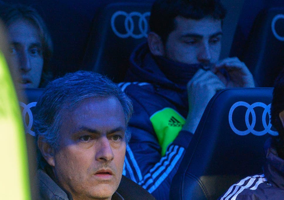 46679247cee Jose Mourinho and Iker Casillas didn t enjoy the best of relationships in  Madrid