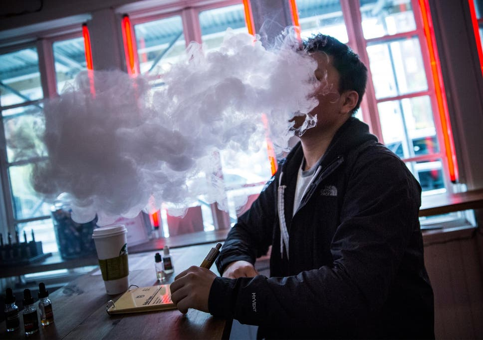 E-cigarette users could be at risk from dangerous 'popcorn