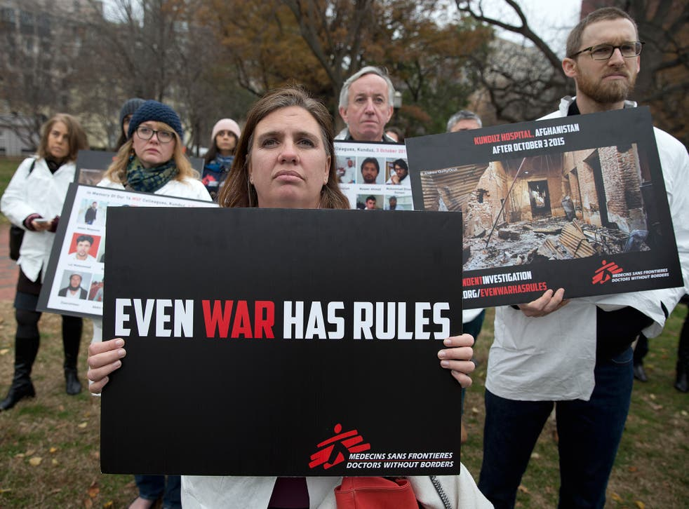 Doctors Without Borders called for the attack to be named a warcrime