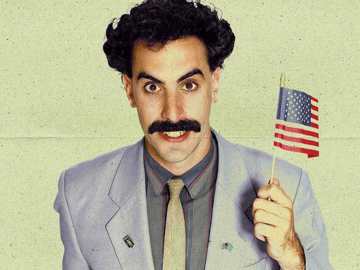 Did Borat support Trump?