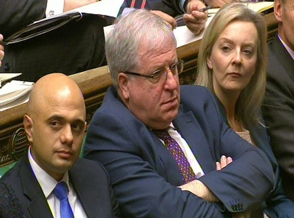 Transport Secretary Patrick McLoughlin faces questions in the House of Commons