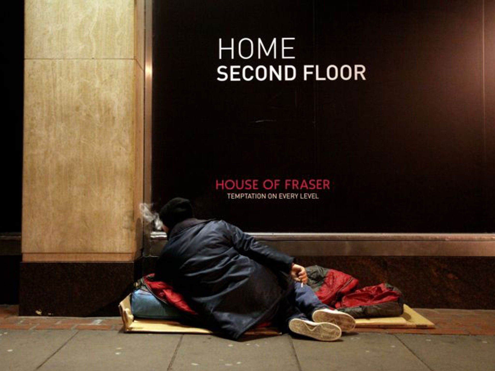 Rough Sleeping Rises By 30 Per Cent In One Year Official