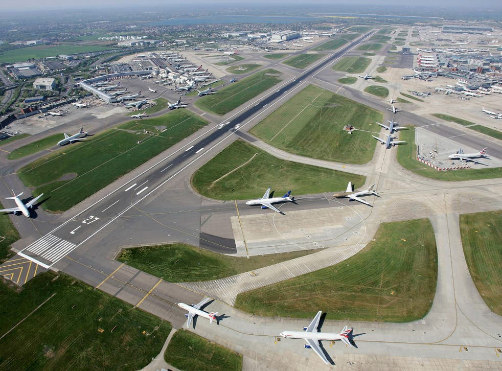 An aerial view of Heathrow. London will set a new global record for the number of passengers flying in and out of a single city this year, with the total exceeding 150m for the first time