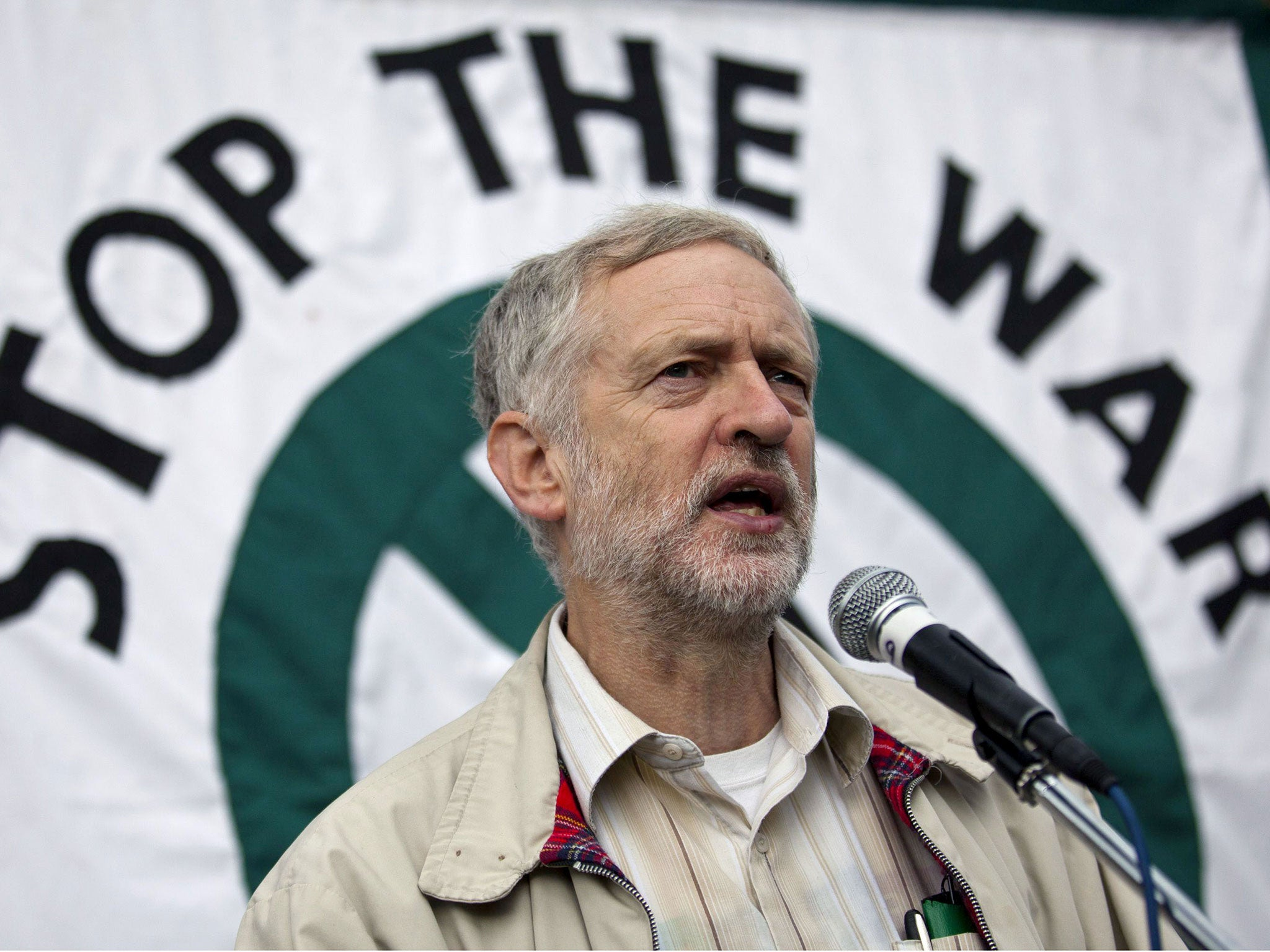 Image result for jeremy corbyn stop the war