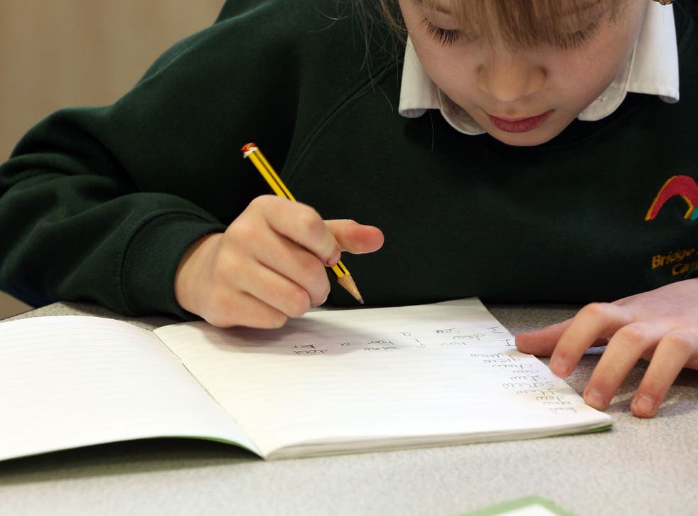 Four out of five children now reach the required standard in reading, writing and maths, compared with two in three in 2010