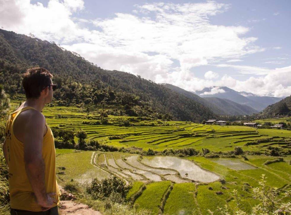 Simon surveys the landscape