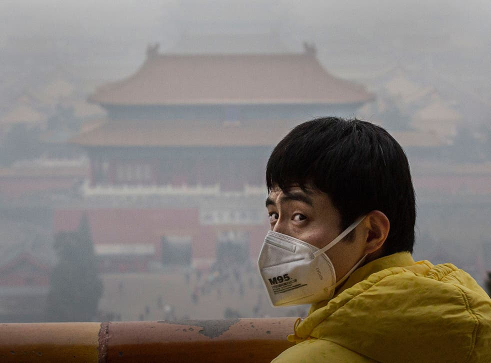 Beijing's smog is caused by the burning of coal for industry and heating and huge amounts of dust