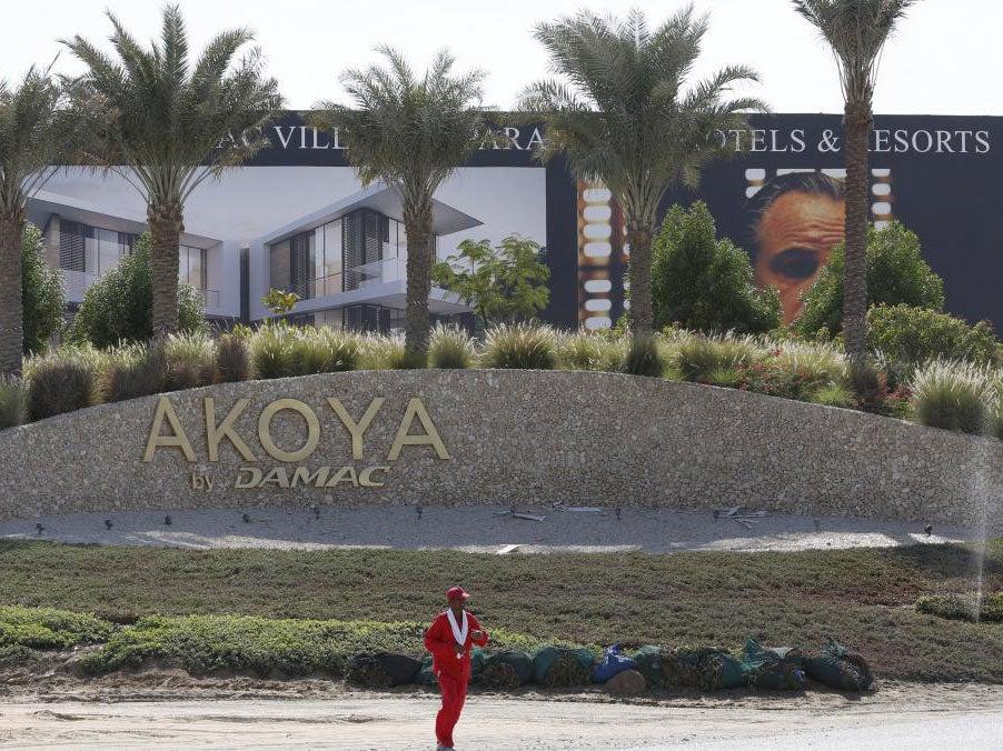 Donald Trump's name torn off Dubai golf course | The ...