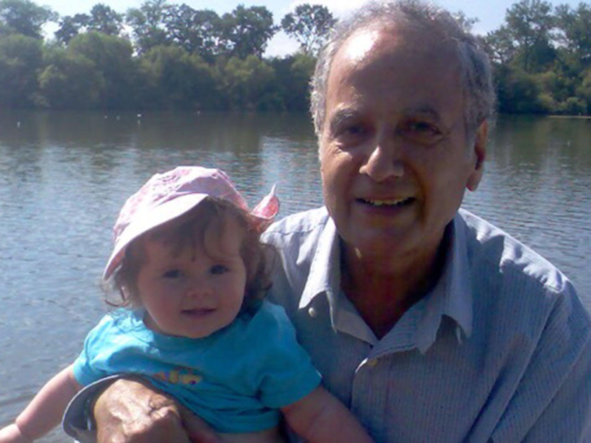 David Cameron intervenes in case of British grandfather <b>Kamal Foroughi</b> &#39; ... - Granddad-Kamal-and-granddaughter
