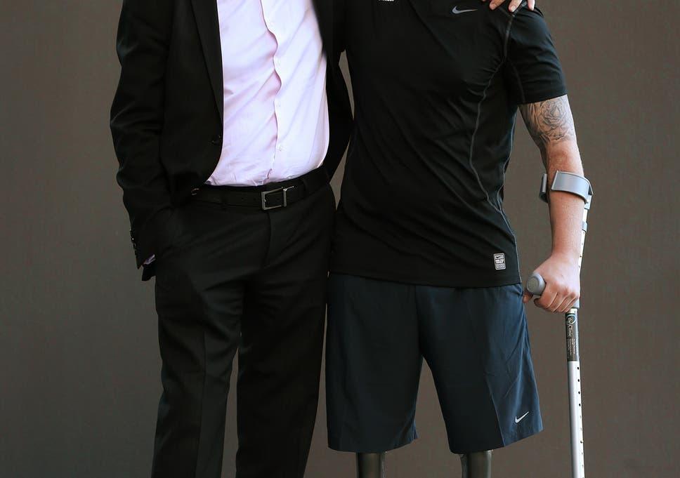 Iraqi-born doctor leads scheme helping British military amputees walk again 9b861c86744