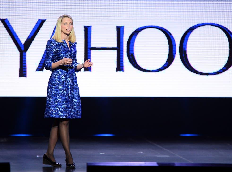 Marissa Mayer is the chief executive of the tech company Yahoo!