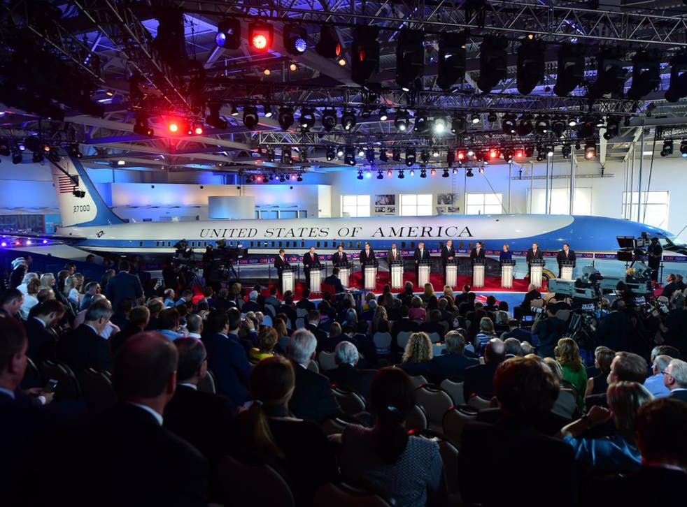 Even in a packed field, no-hope Republican candidates are easily identified