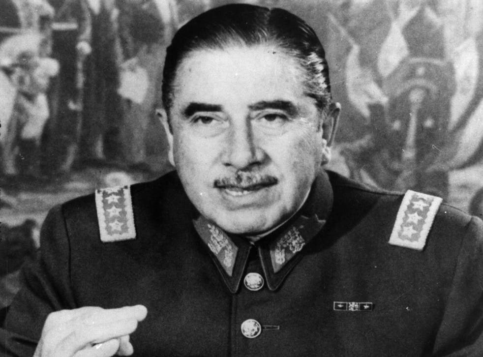 Former dictator of Chile, Augusto Pinochet