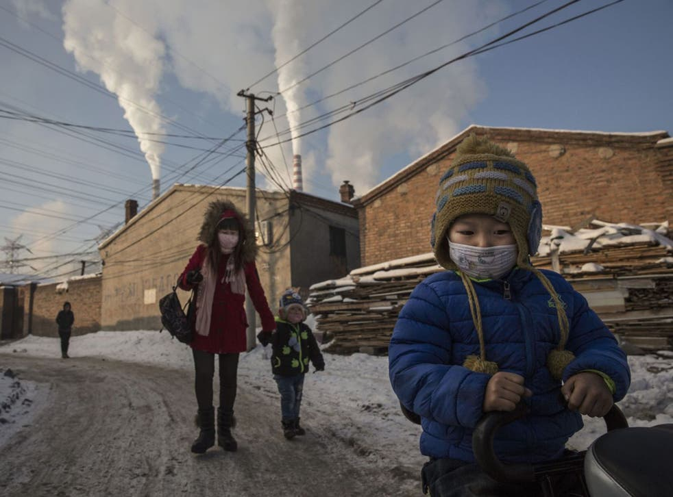 Shanxi, China: this is the first time China, one of the world's biggest polluters, is bound to cut emissions
