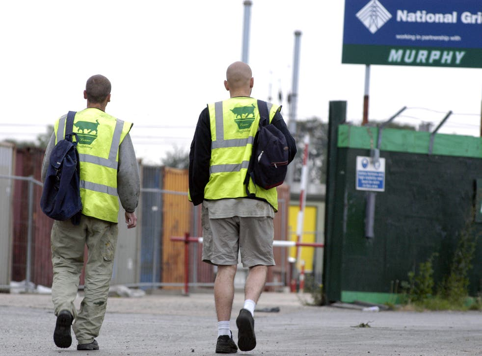 Migrants are often accused of stealing jobs from the British