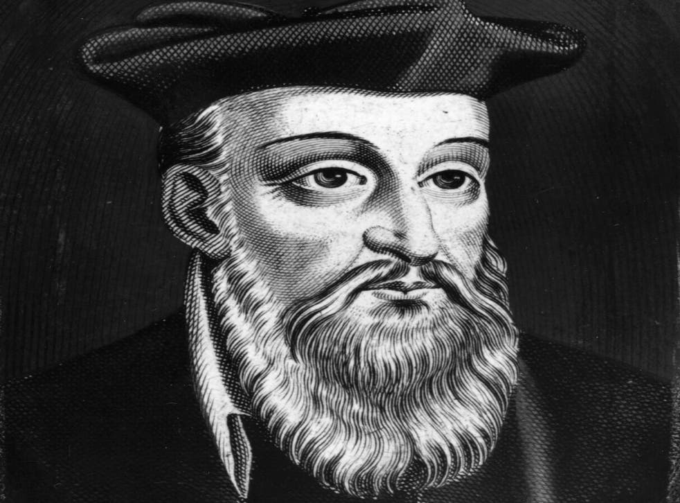 French physician and astrologer Nostradamus