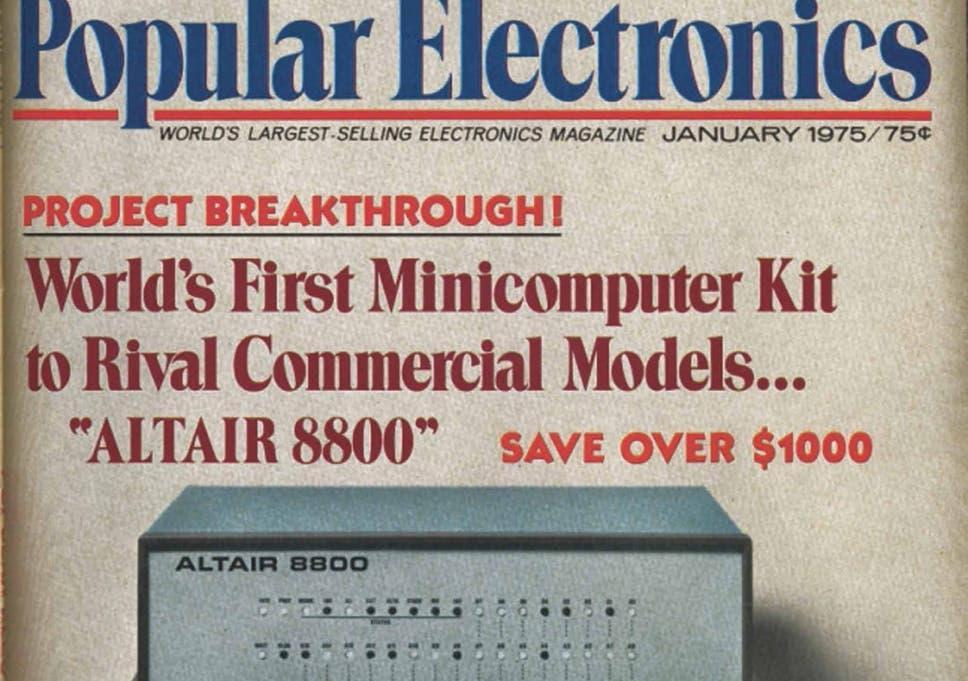 Popular Electronics magazine, January 1975: Rhodri Marsden's