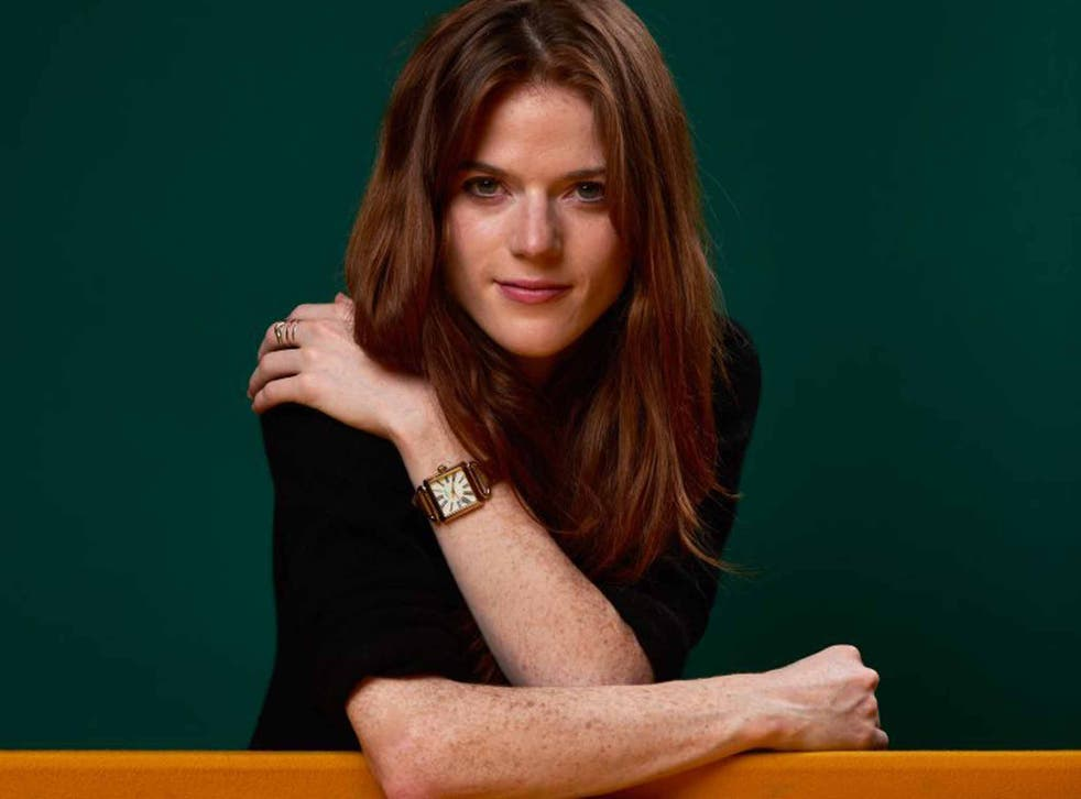 In the red corner: Rose Leslie is Idris Elba's new sidekick in 'Luther'