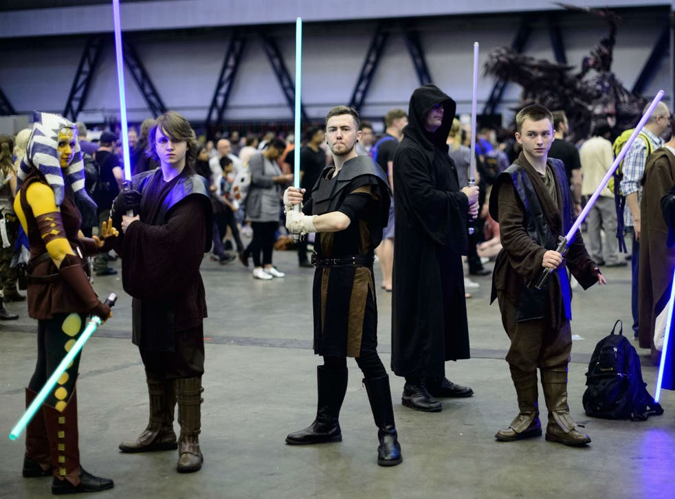 Star Wars fans dress as Jedis but might not know they could join an official religion