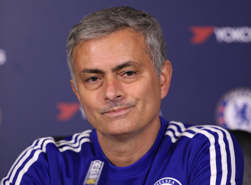 The former Chelsea manager Jose Mourinho