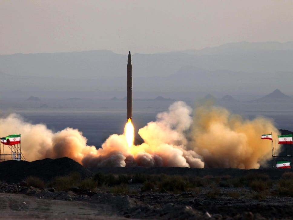 Iran nuclear deal russia says trumps actions are doomed to fail a picture taken on 20 august 2010 shows the test firing at an undisclosed location fandeluxe Image collections