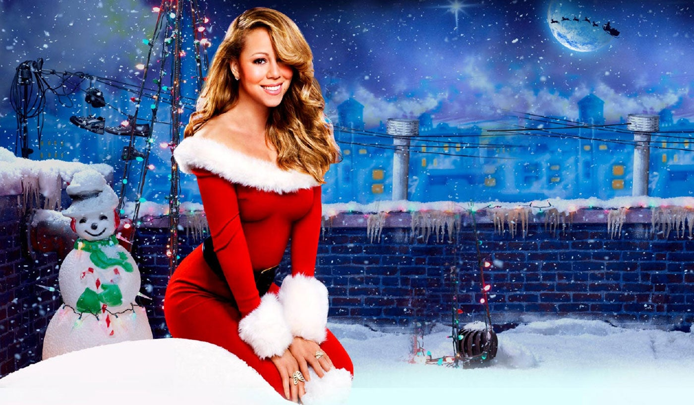 Mariah Carey tops list of most streamed Christmas songs with 13.5M ...