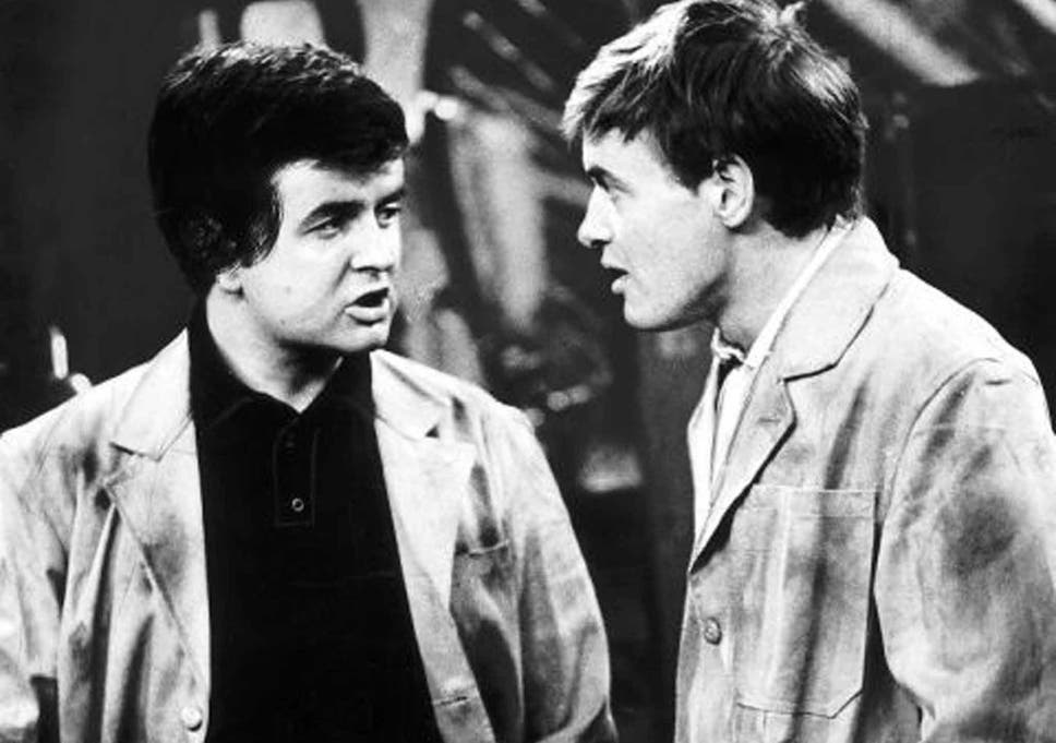 the likely lads rodney bewes left and james bolam