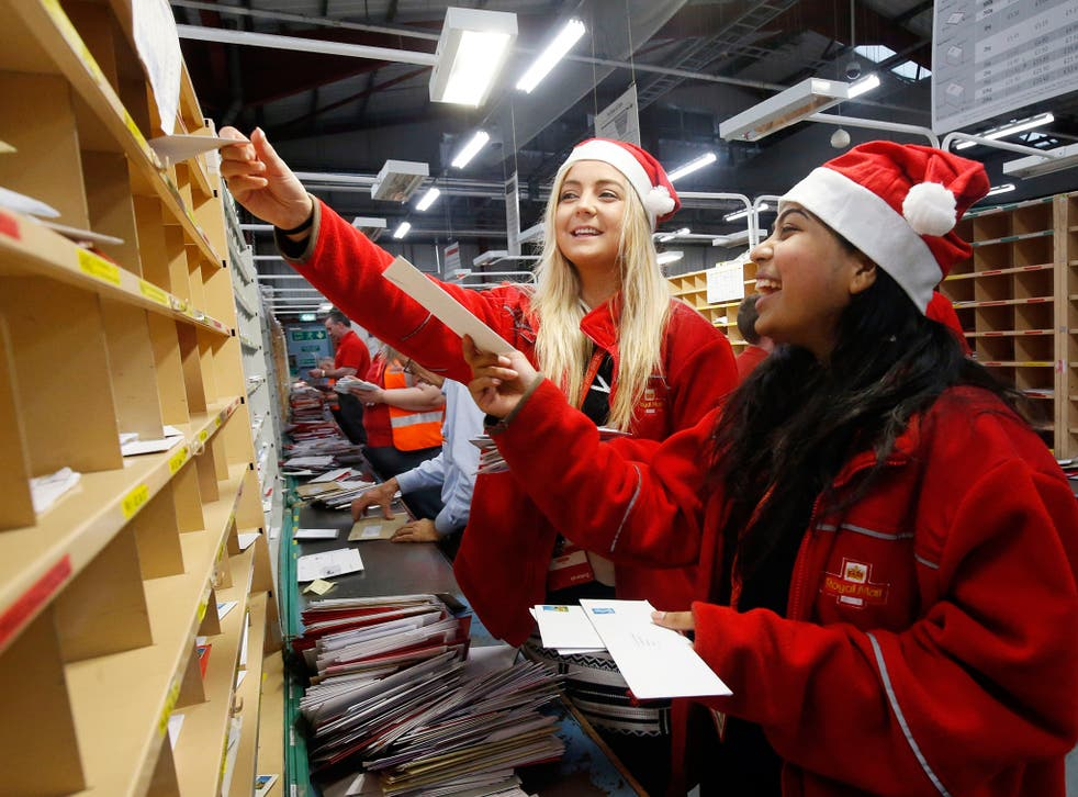 Parcel volumes in the nine months to 24 December were up 6 per cent