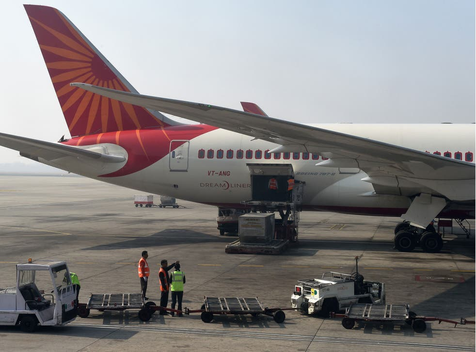 File image of an Air India jet