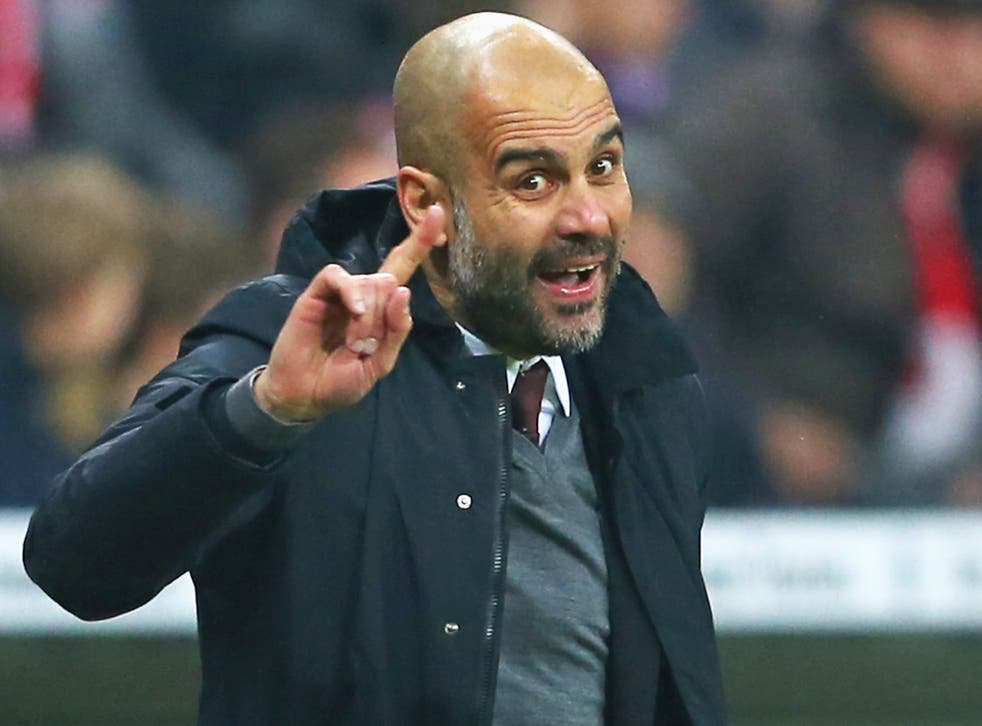 Pep Guardiola is much in demand but has failed to win the Champions League with Bayern Munich