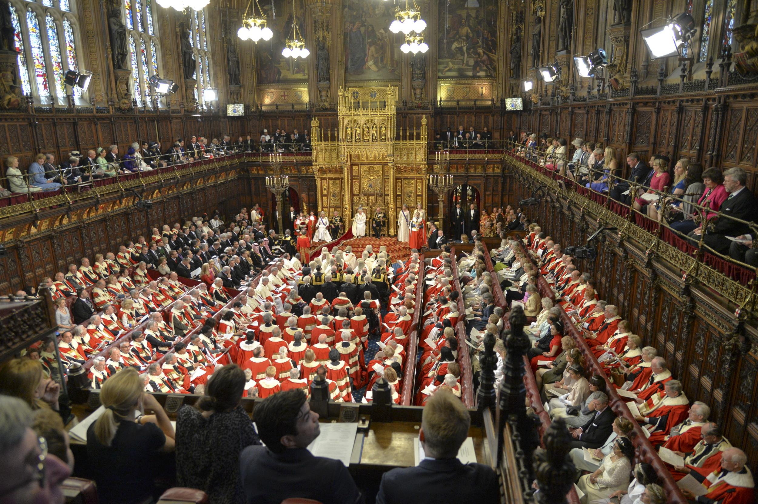 House of lords veto powers could be reined in under uk for Tv camera dei deputati