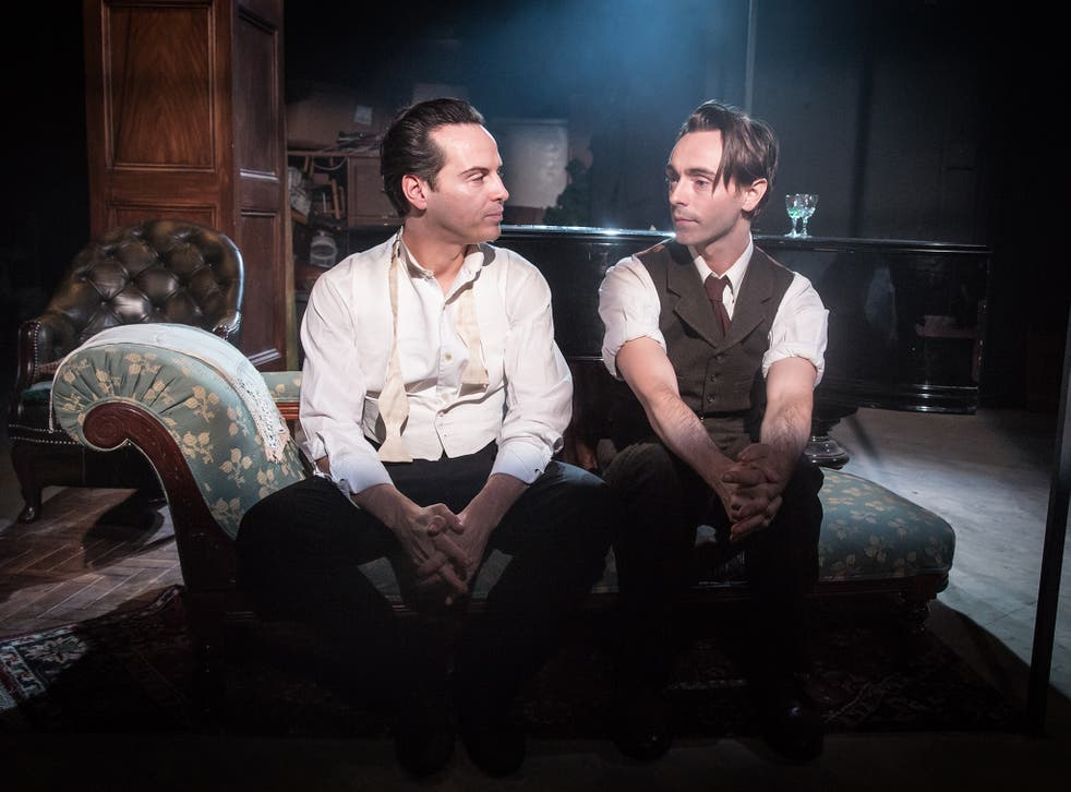 Andrew Scott and David Dawson take you right into the nervous system of an imbalanced relationship