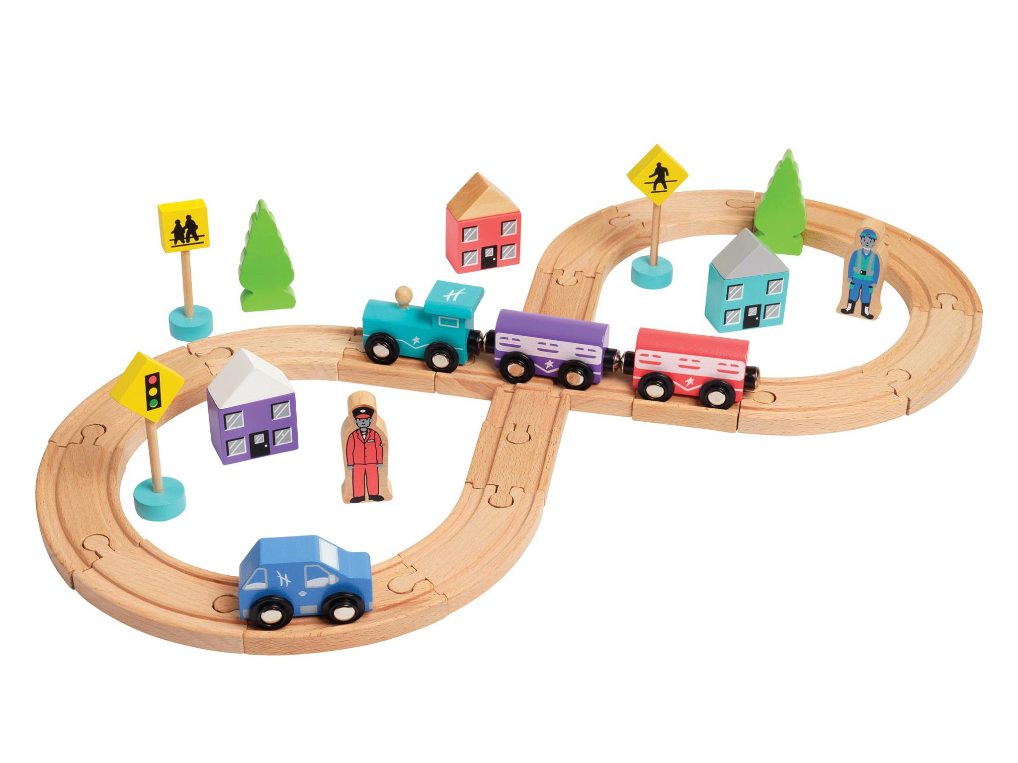 Christmas 2015: 10 best wooden train sets | The Independent