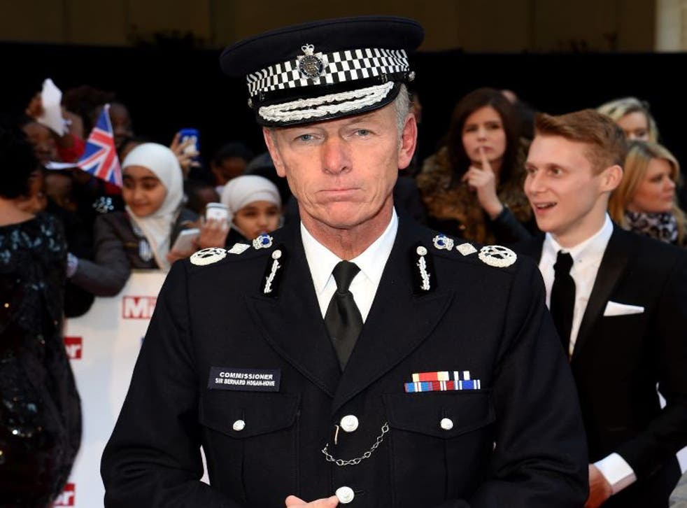 Sire Bernard Hogan-Howe was speaking to the London Assembly's Police and Crime Committee