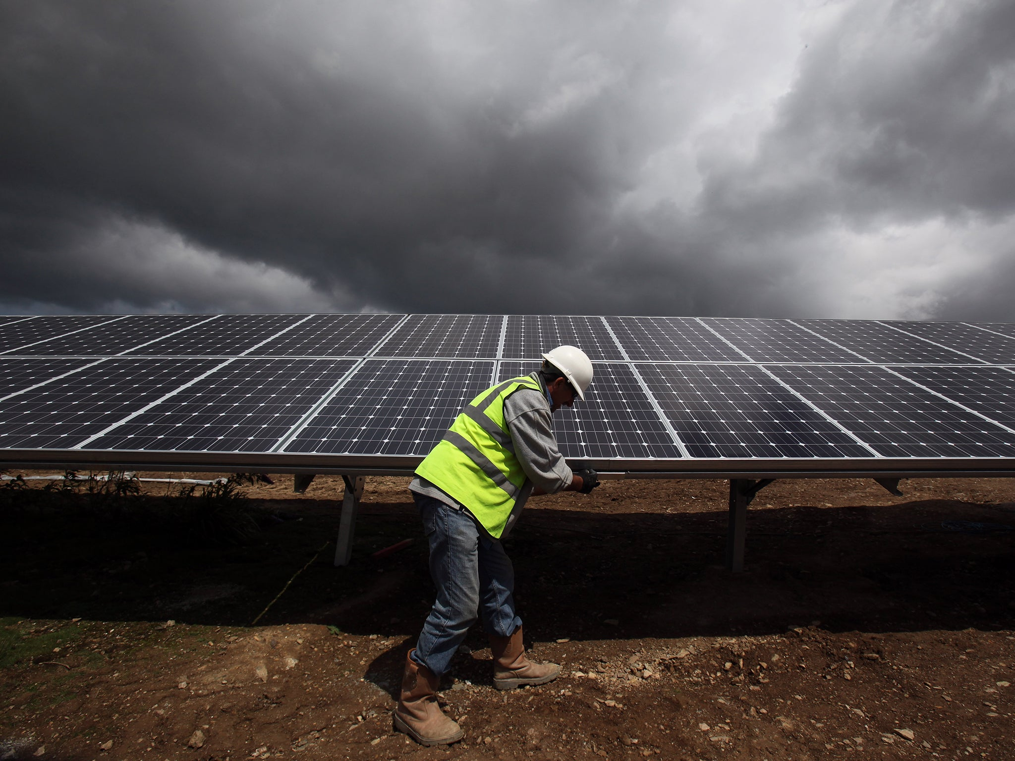 Solar Panel Subsidies Face Heavy Cuts In Climate Change