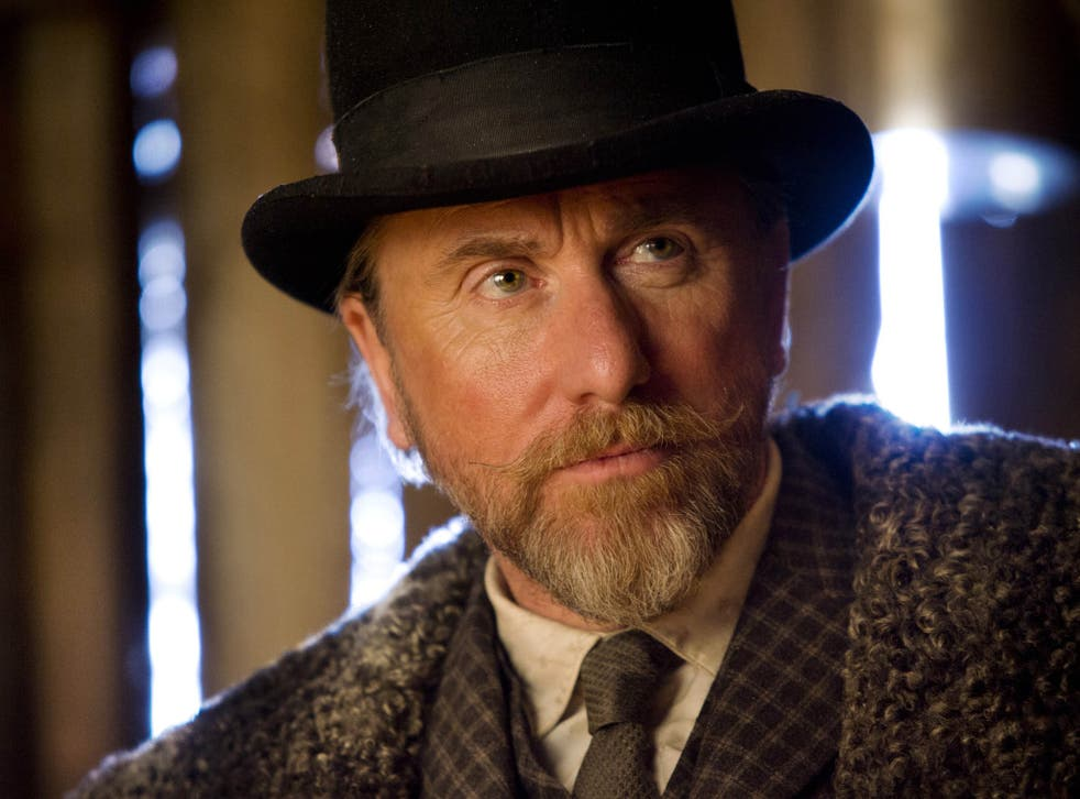 Tim Roth stars in the Hateful Eight
